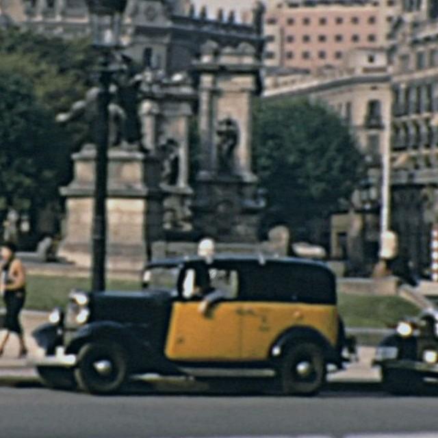 Barcellona negli anni 50