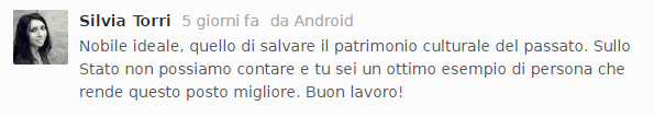"Commento di Silvia Torri al podcast ""Super 8"""