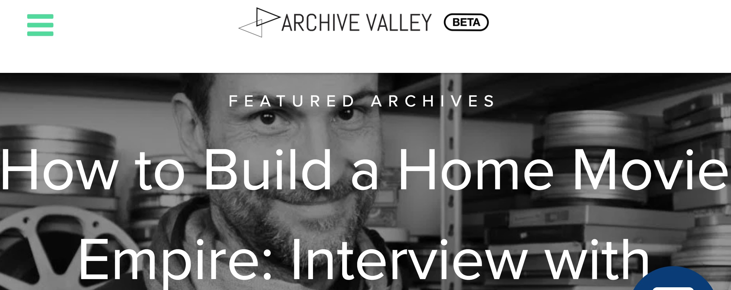 Copertina dell'intervista a Daniele Carrer: how to build a home movies empire
