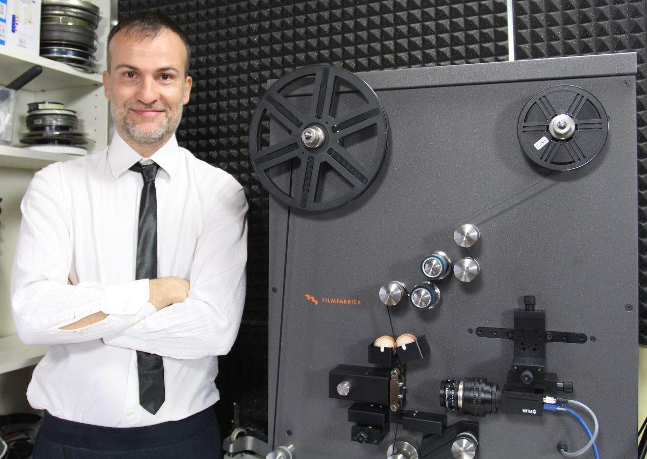 Il telecinema FilmFarbiek HDS+ e Daniele Carrer