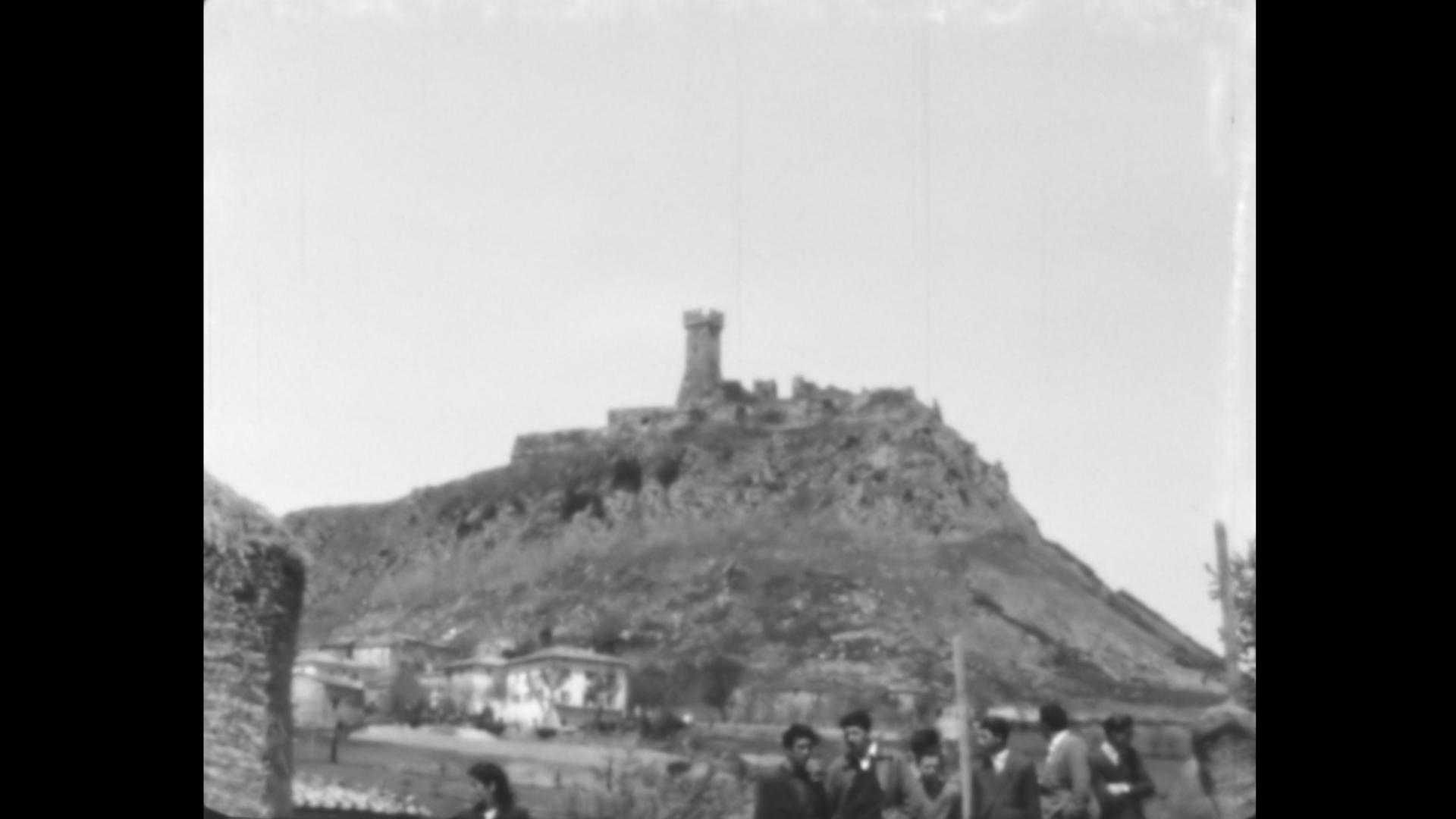 La Rocca di Radicofani nel 1953